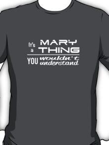 MARY - Duchess Design T-Shirt