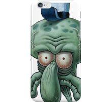 Squidward Unsure Face iPhone Case/Skin