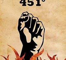Fahrenheit 451 - Ray Bradbury by pithypenny