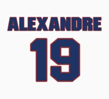 National Hockey player Alexandre Picard jersey 19 by imsport