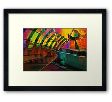 Freeway Art Framed Print