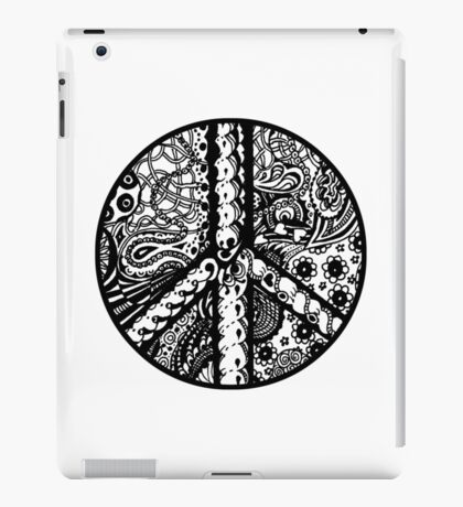 Circle of Peace Aussie Tangle - See Description Note for Colour Options iPad Case/Skin