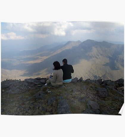 Carrauntoohil lunch Poster