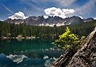 Lake Carezza by Krys Bailey