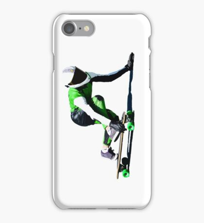 Skate drifting! Downhill. iPhone Case/Skin