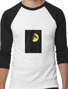 the nearly~dark side... Men's Baseball ¾ T-Shirt