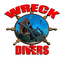 Wreck Diving Photographic Print
