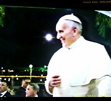 POPE FRANCIS IN MANILA by slazenger