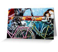 Bikes Amsterdam Greeting Card
