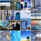 Blue Mosaic by eyeshoot