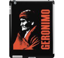 GERONIMO-APACHE 2 iPad Case/Skin