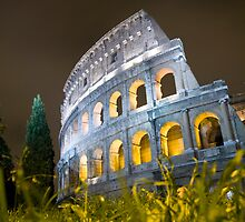 Colleseum At Night by Paul Thompson Photography