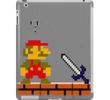 Mario and the...Master Sword? iPad Case/Skin