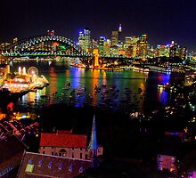 Light - Moods Of A CIty - The HDR Series, Sydney Australia by Philip Johnson