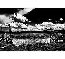 Between The Jetties Photographic Print