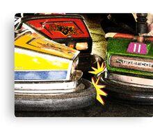 Bumper Cars Canvas Print