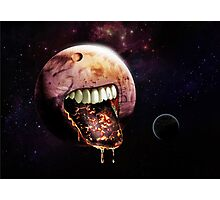 Cannibal Planet Photographic Print