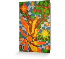 knight of the trees Greeting Card
