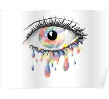 Rainbow Tears Poster