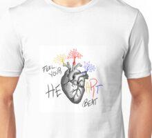 Feel Your Heart Beat Unisex T-Shirt