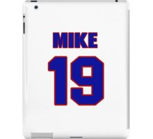 National Hockey player Mike Wong jersey 19 iPad Case/Skin