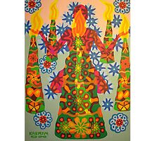 yoga candle - 2008 Photographic Print