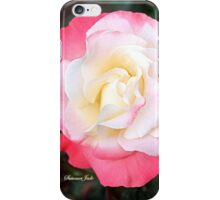 A Rose That Asks ~ What Color Am I? iPhone Case/Skin