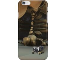 Exploring The Caves Of Mars iPhone Case/Skin