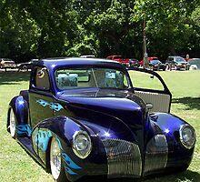 Purple Hot Rod by Glenna Walker