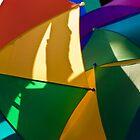 Primary Umbrellas by Tom Allen