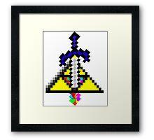 The Master Sword Framed Print