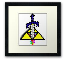 The Master Sword Framed Print