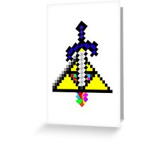 The Master Sword Greeting Card