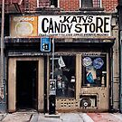 """I speak 3 languages. English. Spanish. And Motherfucker."" KATY (owner Katy's Candy) KATY'S CANDY R.I.P. 08 by James and Karla Murray"