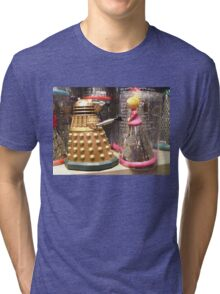 I Will Wait 4U- A Dalek in Love Tri-blend T-Shirt