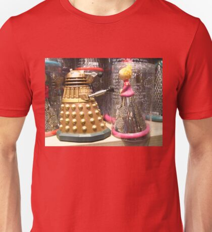 I Will Wait 4U- A Dalek in Love Unisex T-Shirt