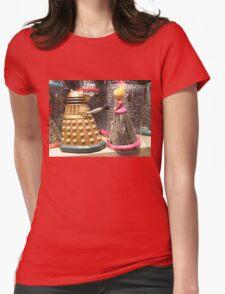 I Will Wait 4U- A Dalek in Love Womens Fitted T-Shirt