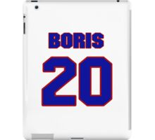National Hockey player Boris Mironov jersey 20 iPad Case/Skin