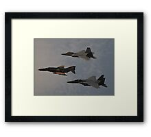 Air Force Heritage Flight Framed Print