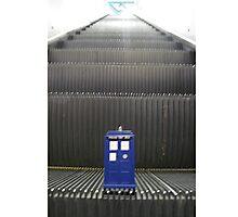 Stairway to TARDIS Photographic Print