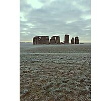 Stonehenge Filtered Photographic Print