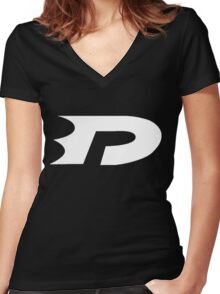 Danny Phantom Women's Fitted V-Neck T-Shirt