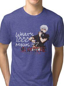 1000 minus 7 Tri-blend T-Shirt