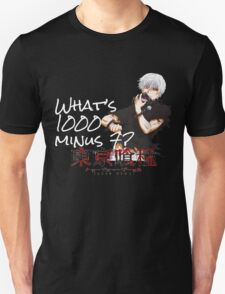 1000 minus 7 Unisex T-Shirt
