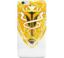Gridania flag grunge iPhone Case/Skin