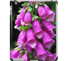 Purple Foxglove iPad Case/Skin