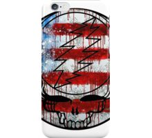 Grateful Dead Deadhead American Flag iPhone Case/Skin