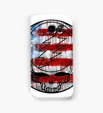 Grateful Dead Deadhead American Flag Samsung Galaxy Case/Skin