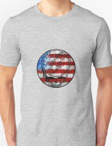 Grateful Dead Deadhead American Flag Unisex T-Shirt