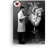 experiments of the heart  Canvas Print